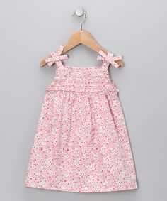 Take a look at this Red Stripe Patch Swing Dress - Infant & Toddler by Rim Zim Kids on #zulily today!