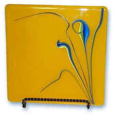 fused glass panel from goess-studio.