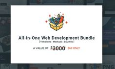 An All-in-One Web Development Bundle Has Been Released!