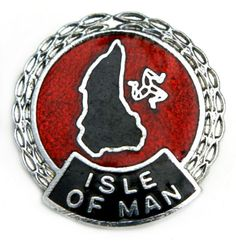 isle of man vintage anchor badge isle of man pin badges pinterest. Black Bedroom Furniture Sets. Home Design Ideas