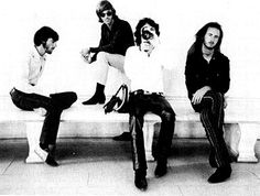 i think i was actually on that bench at a monument in D.C.!!!!!! Jim Morrison, (The Doors) John Densmore, Ray Manzerak, Robby Krieger