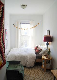If All Else Fails, Bunting! Rental home decor | for more ideas, click the picture or visit www.thedebrief.co.uk