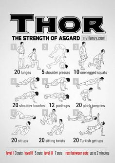 Thor workout!