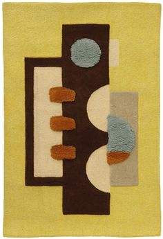Edward Fields; Wool Rug, 1971.