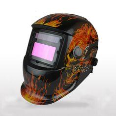 MX-DEMEL New Skull Solar Auto Darkening MIG MMA Electric Welding Mask/Helmet/Welder Cap/Welding Lens For Welding Machine Helmets