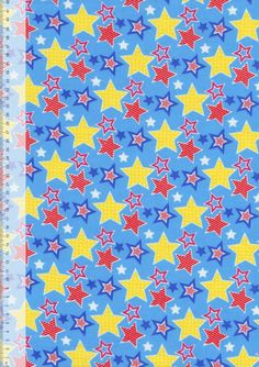Stars Blue | Cotton Winceyette | Empress Mills