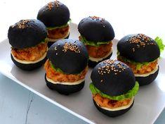 Mini hamburguesas de pescado