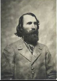 Confederate Lt. General A. P. Hill - His corp was the first to come into Gettysburg on June 30, 1863.