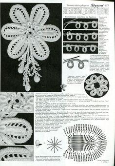 Crochet Motivi floreali.