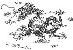 Pictures of chines drangons | How to Draw a Chinese Dragon | Suhow