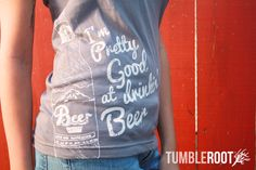 Win a Pretty Good at Drinkin' Beer T-shirt at The Funky Monkey!  Giveaway ends 7/8/13