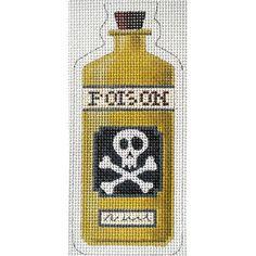 Poison Halloween Bottle (13 count)