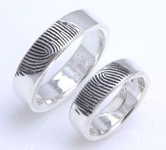 Fab Find: Fingerprint Wedding Rings
