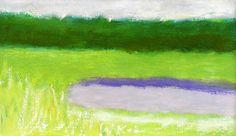 Wolf Kahn, Meadow Pond