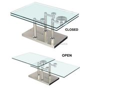 Spur Extensible Coffee Table