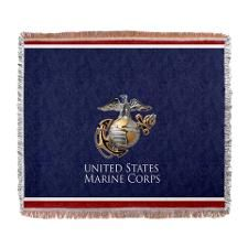 Can't have enough Marine Corps blanket