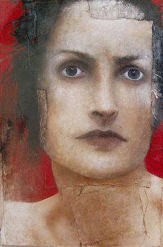 Donna romantica e rivoluzionaria by Monica Leonardo artist, via Flickr