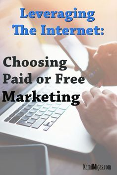 As an experienced online marketer, you will quickly learn that you have to spend money to make money. In this example, you will see why paid marketing is almost always better than free marketing. #marketing #internetmarketing #onlinemarketing #entrepreneur #smallbiz #sahm