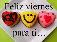 Feliz Viernes para ti | Corazón y Sonrisa - Imagenes con Frases, Fotos y Carteles para Compartir