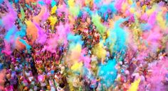 The Color Run Tips - If you want your shirt to stay stained as a memento, spray it with vinegar then iron it after the race and before throwing it in the washer.