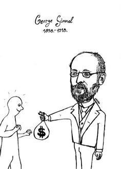 """Georg Simmel (1858 - 1918)    For Kant the question was """"What is nature?"""" but for the German sociologist, Georg Simmel, the question was, """"What is society?"""" Most biographers regard Simmel as an incredibly creative theorist, and his ideas have  helped form the foundation of modern urban sociology, symbolic interactionism, and social network analysis."""