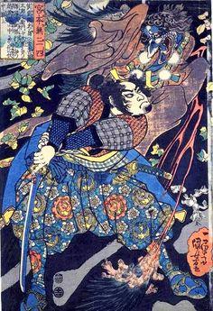 宮本武蔵vs天狗 Musashi versus Tengu