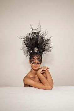 OC 793-Phillip Treacy-Tell me, just tell me that I wouldn't be the center of attention!