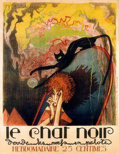 le Chat Noir  Hebdomadaire - the Black Cat Weekly | M. Desbarbieux