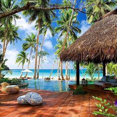 Laucala Island Fiji 🌴🌴🌴🌴🌴 . 📷 Via @beautiful.travelpix