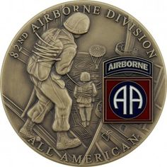 U.S. Army 82nd Airborne Coin