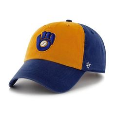 4ee26c9f915 Milwaukee Brewers Franchise Royal Hat Royal 47 Brand Hat