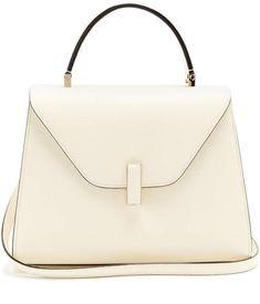 9fd834f477 VALEXTRA Iside medium grained-leather bag