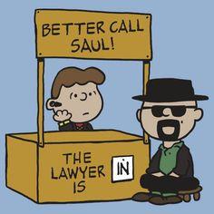 Better Call Saul Charlie Brown Heisenberg T-Shirt