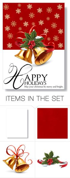 """Holiday card 2"" by blonde4 ❤ liked on Polyvore featuring art, holidaygreetingcard and PVStyleInsiders"