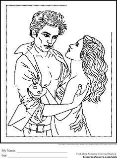 twilight coloring pages edward and bella is the love affair that became the love that was betrayed in real life robert pattinson and kristen stewart