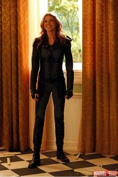 Adrianne Palicki stars as Agent Bobbi Morse, a.k.a. Mockingbird, in Marvel's Agents of S.H.I.E.L.D. - A Fractured House