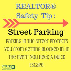 Remember this important REALTOR® Safety Tip as you're meeting with clients!