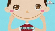 Canción popular-Tengo 2 manitas -To teach face/body parts in Spanish Grade K and 1st