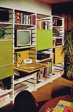 1960s wall unit, crate wall, bookshelf, bookshelves