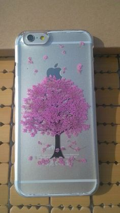 Tree Flower iPhone 5 Case Pressed Flower iPhone 6 by pengsuzhen