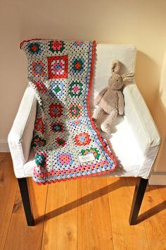 SALE 30 % HandMade Baby Crochet Blanket Full of Colors by MrMIZO