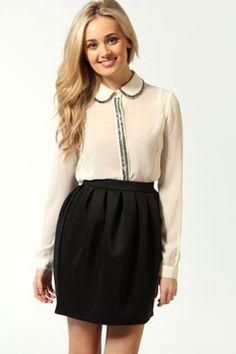 Katrin Lantern Shape Scuba Skirt $14.00