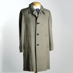 '60s Mod Lightweight Top Coat 40, $280, now featured on Fab.