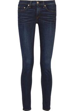 Rag & bone|The Skinny mid-rise jeans|NET-A-PORTER.COM