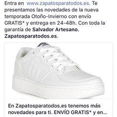 Nueva temporada en www.zapatosparatodos.es