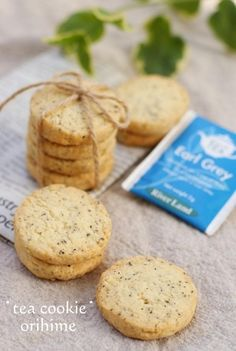 tea leaf cookie recipe in Japanese Japanese Bread, Japanese Sweets, Japanese Food, Sweets Recipes, Bread Recipes, Cookie Recipes, Desserts, How To Cook Broccoli, Cooking Broccoli