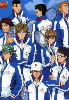 Аниме обои The Prince of Tennis: The National Tournament / Принц тенниса OVA-1 63317