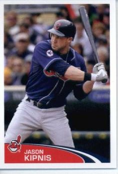 2012 Topps Baseball MLB Sticker #60 Jason Kipnis Cleveland Indians by Topps Stickers. $1.95. Look for thousands of other great sportscards of your favorite player or team. Single 2012 Topps MLB Sticker. Sticker is in MINT condition and shipped in a protective topload holder. MLB Baseball Collectible Sticker From Topps
