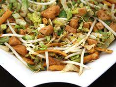 Chicken Teriyaki Salad (I would add more veggies)