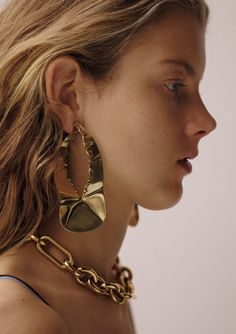 Céline gold jewellery for S/S15